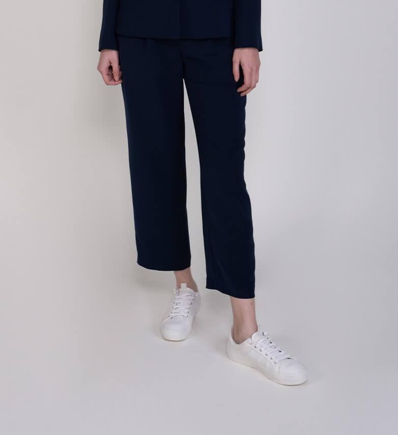 Sembol Giyim Beli Büzgülü Kadın Pantolon 3283